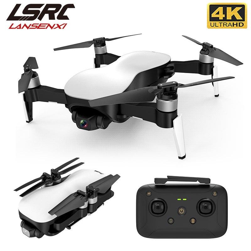 LSRC new GPS drone 4K HD camera three-axis PTZ and 5G WiFi 1.2km transmission distance professional foldable quadrotor dron